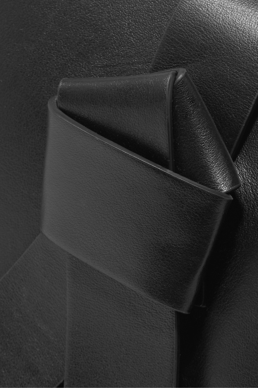 Acne Studios Musubi Bucket mini knotted leather bucket bag