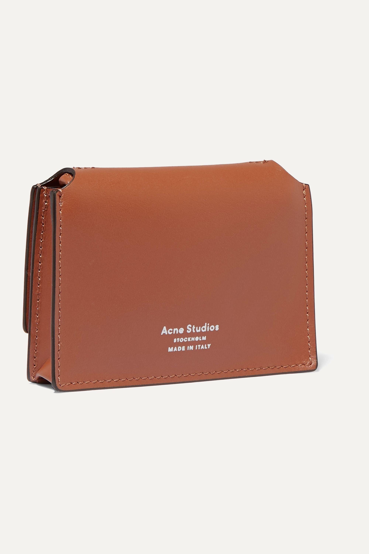 Acne Studios Mini leather shoulder bag