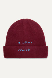 Kreed Sporty embroidered wool-blend beanie