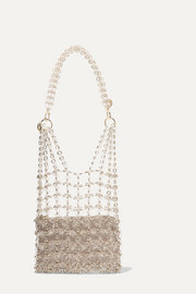 Rosantica Clash gold-tone and resin shoulder bag