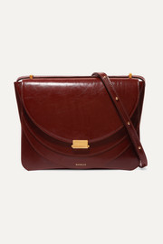 Wandler Luna patent-leather shoulder bag