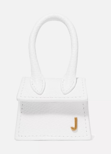 Le Petit Chiquito Mini Textured Leather Tote by Jacquemus