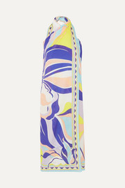 Emilio Pucci Printed cotton-voile dress