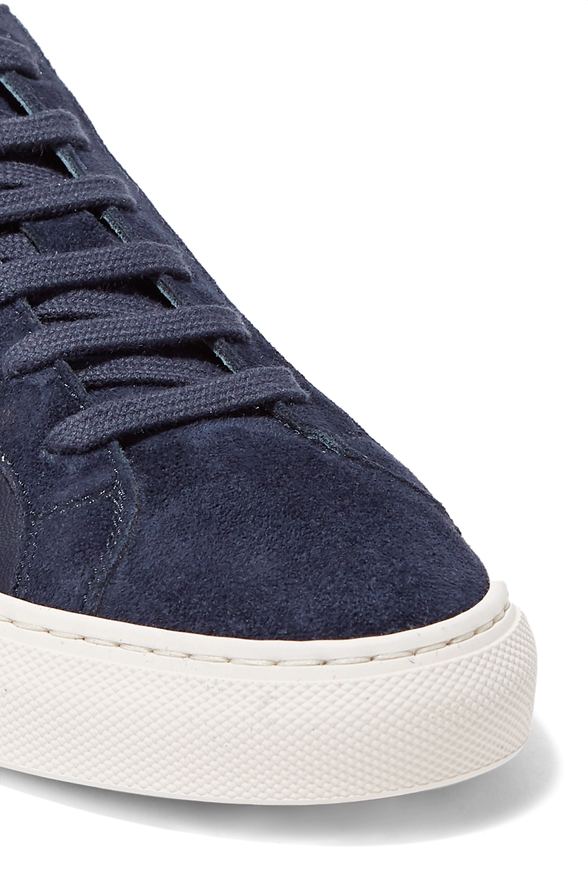 common projects navy suede