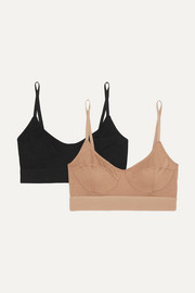 Baserange + NET SUSTAIN set of two stretch-bamboo soft-cup bras