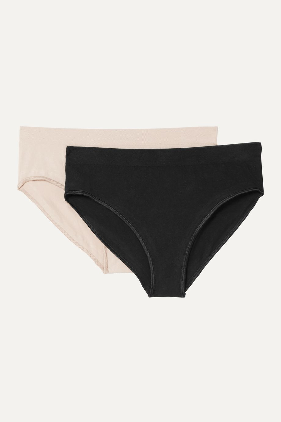Baserange + NET SUSTAIN Oleta set of two stretch cotton-blend briefs