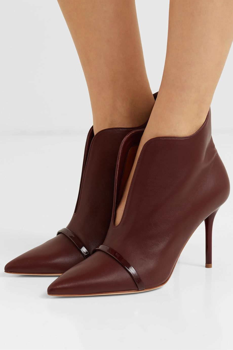 Malone Souliers Cora 85 leather ankle boots