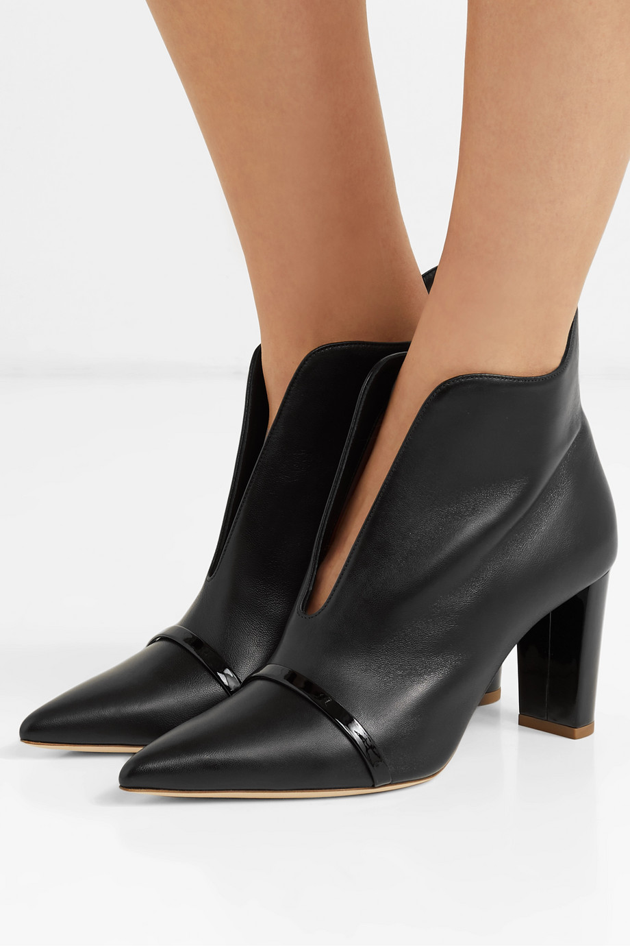 Malone Souliers Clara 70 leather ankle boots