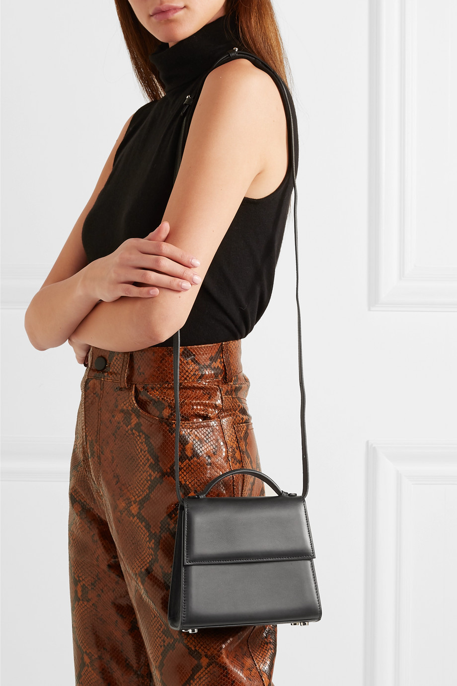 Hunting Season The Small Top Handle leather tote