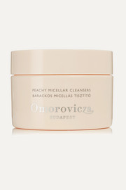 Omorovicza Peachy Micellar Cleansers, 60 discs