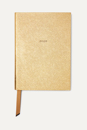 Soho 2020 textured-leather diary