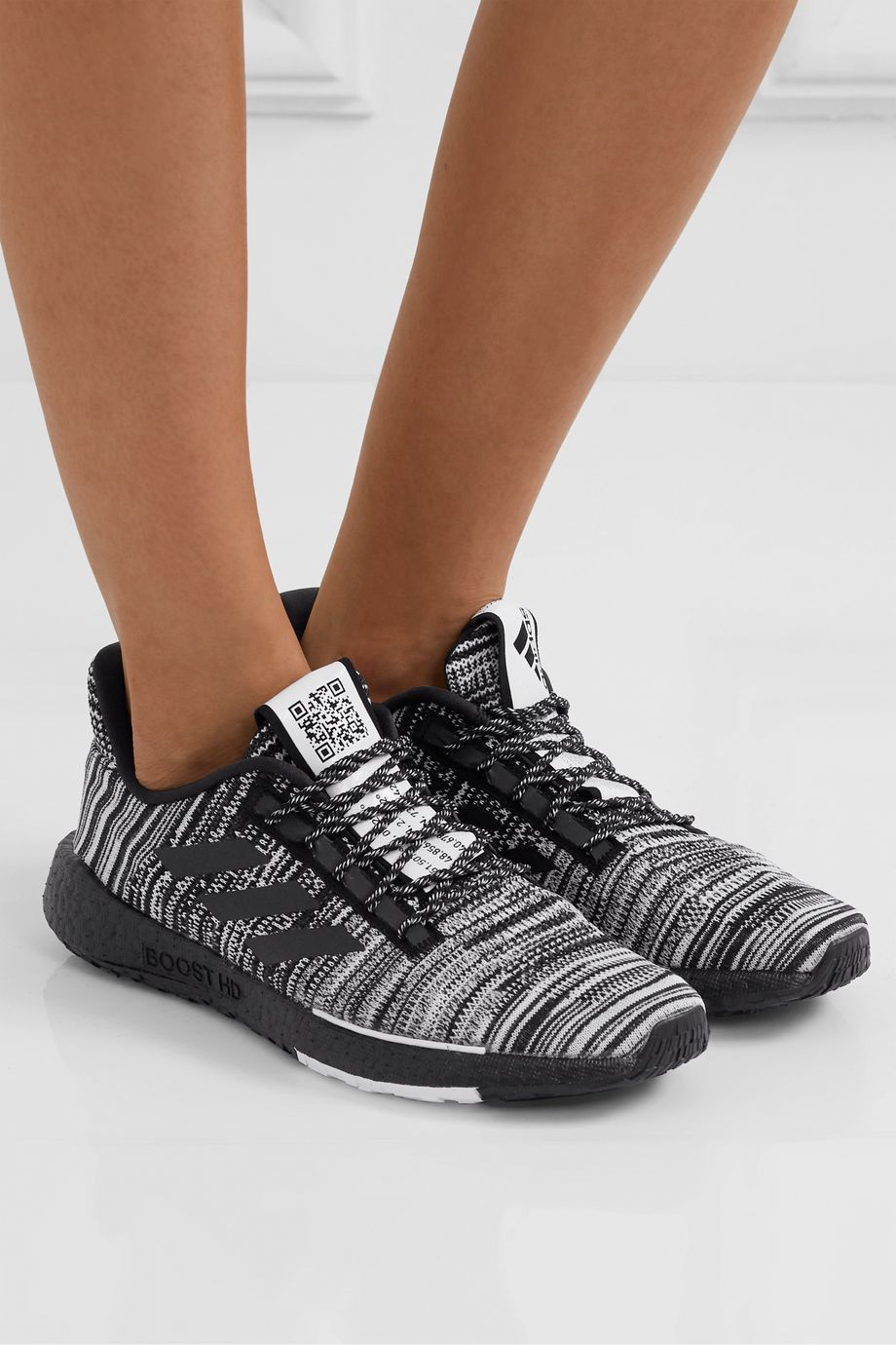 adidas Originals + Missoni Pulseboost crochet-knit sneakers