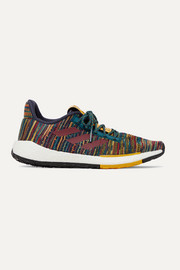 adidas Originals + Missoni Pulseboost crochet-knit sneakers