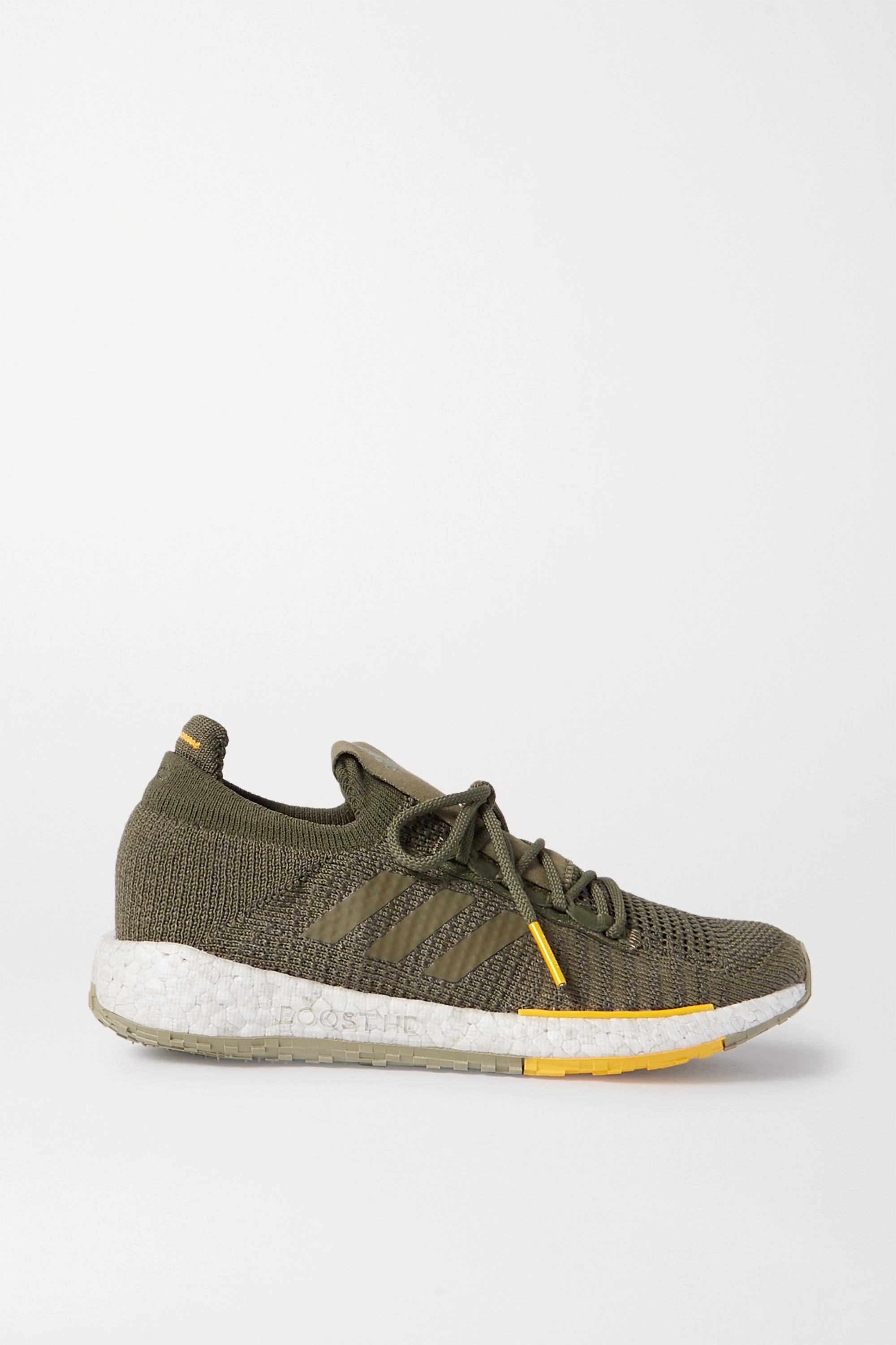 adidas Originals + Monocle Pulseboost HD stretch-knit sneakers