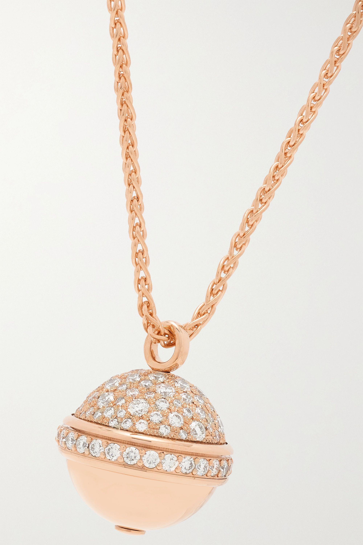 Piaget Possession Kette aus 18 Karat Roségold mit Diamanten