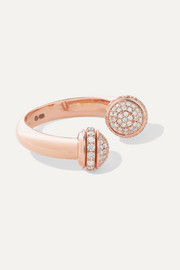 Possession 18-karat rose gold diamond ring