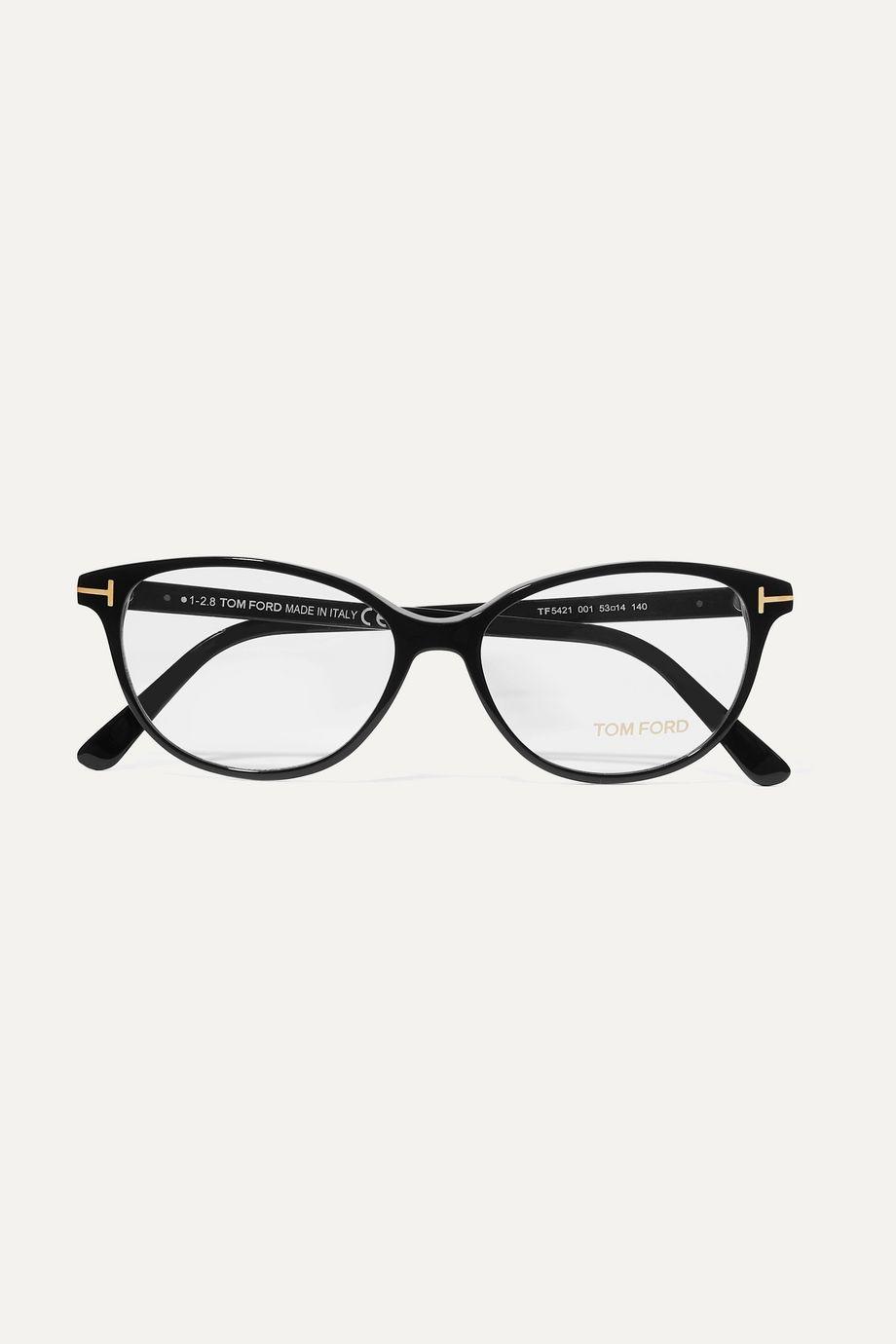 TOM FORD D-frame acetate optical glasses