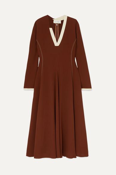 Wales Bonner Dresses Crepe midi dress