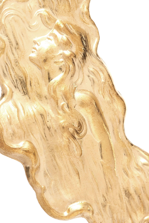 Peet Dullaert Sirene gold-plated faux pearl earrings