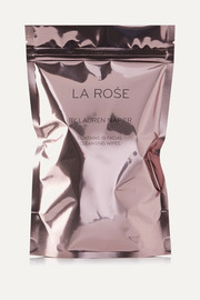Lauren Napier Beauty La Rose - Facial Cleansing Wipes x 15