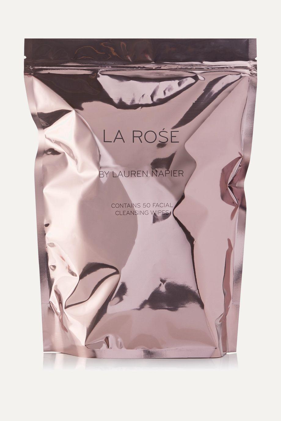 Lauren Napier Beauty La Rose - Facial Cleansing Wipes x 50