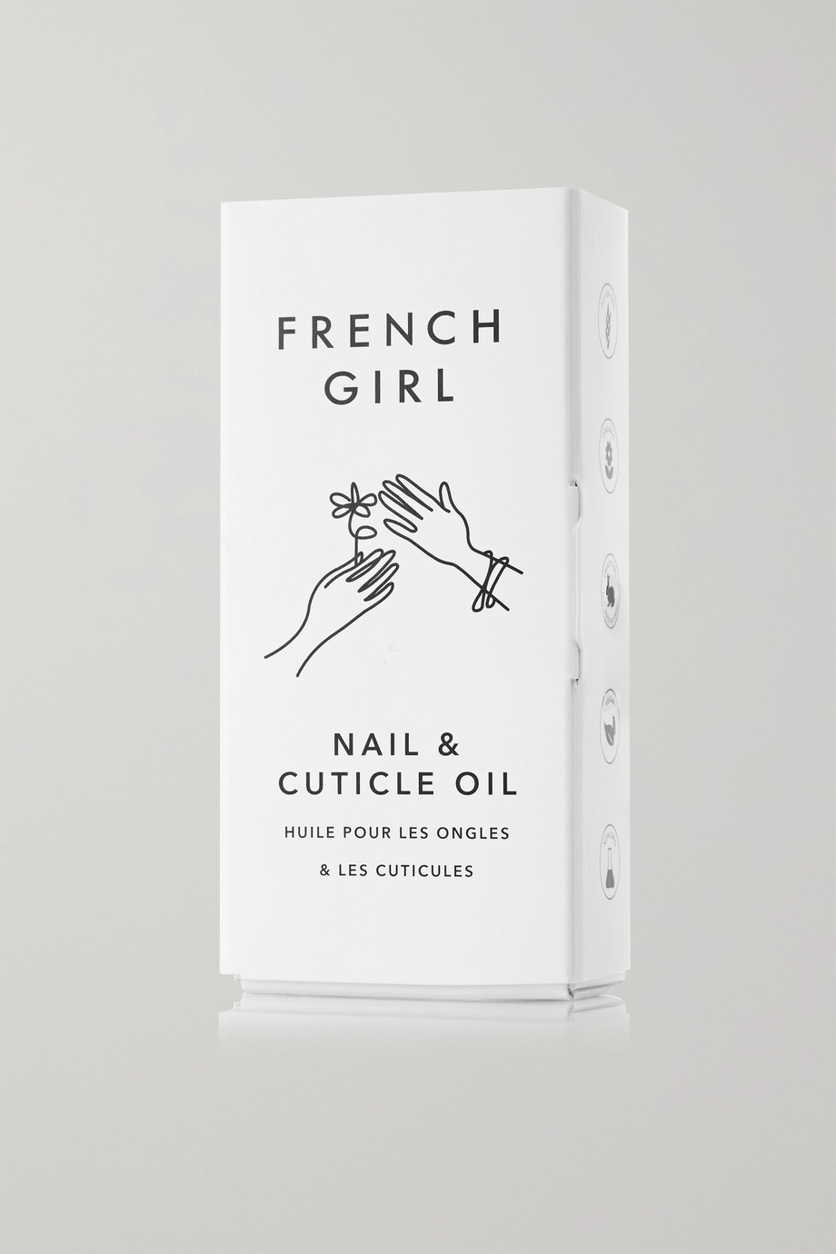 French Girl Organics Nail & Cuticle Oil, 9ml