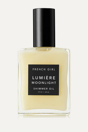 French Girl Organics Lumière Moonlight Shimmer Oil, 60ml