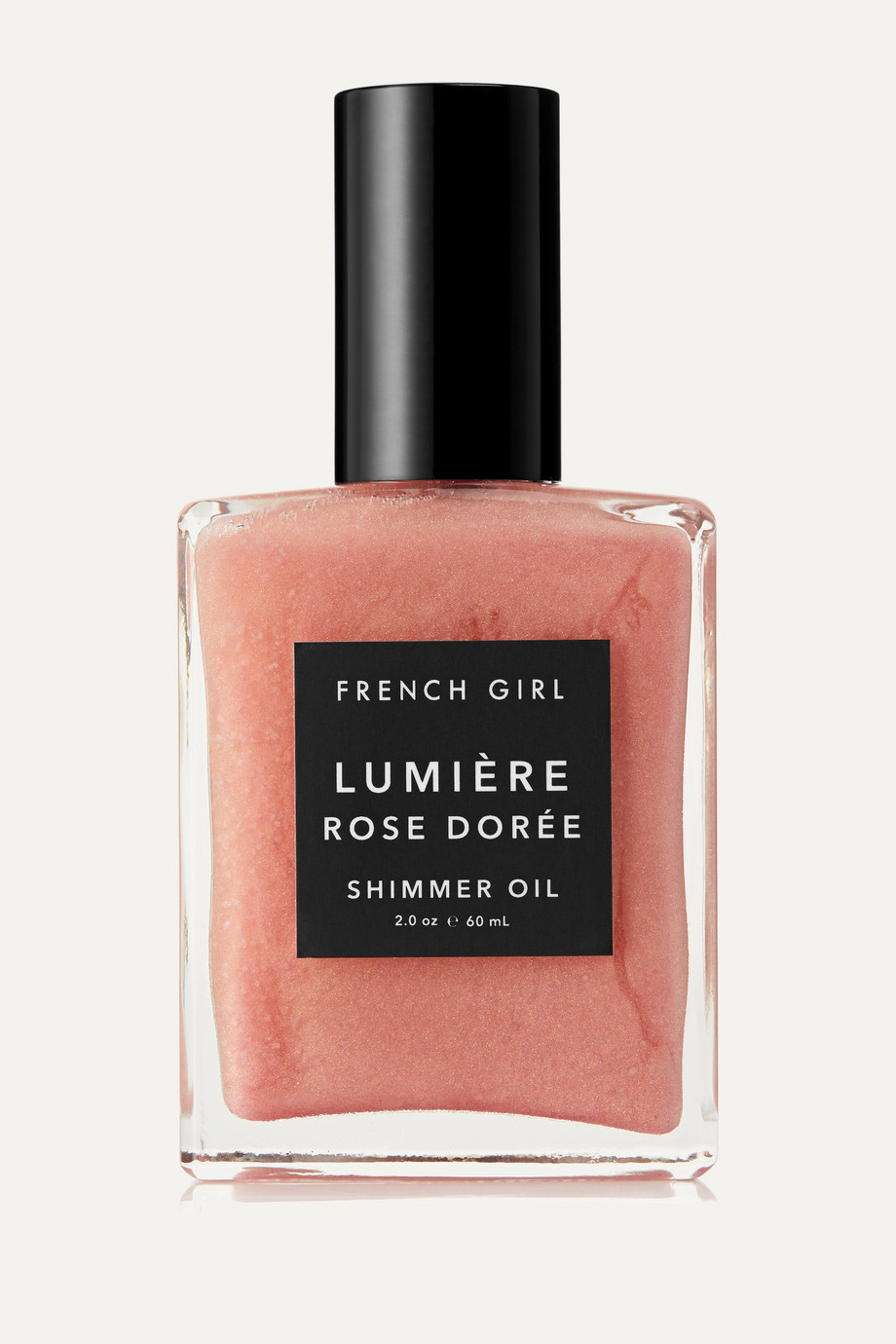 French Girl Organics Lumière Rose Dorée Shimmer Oil, 60 ml – Körperöl