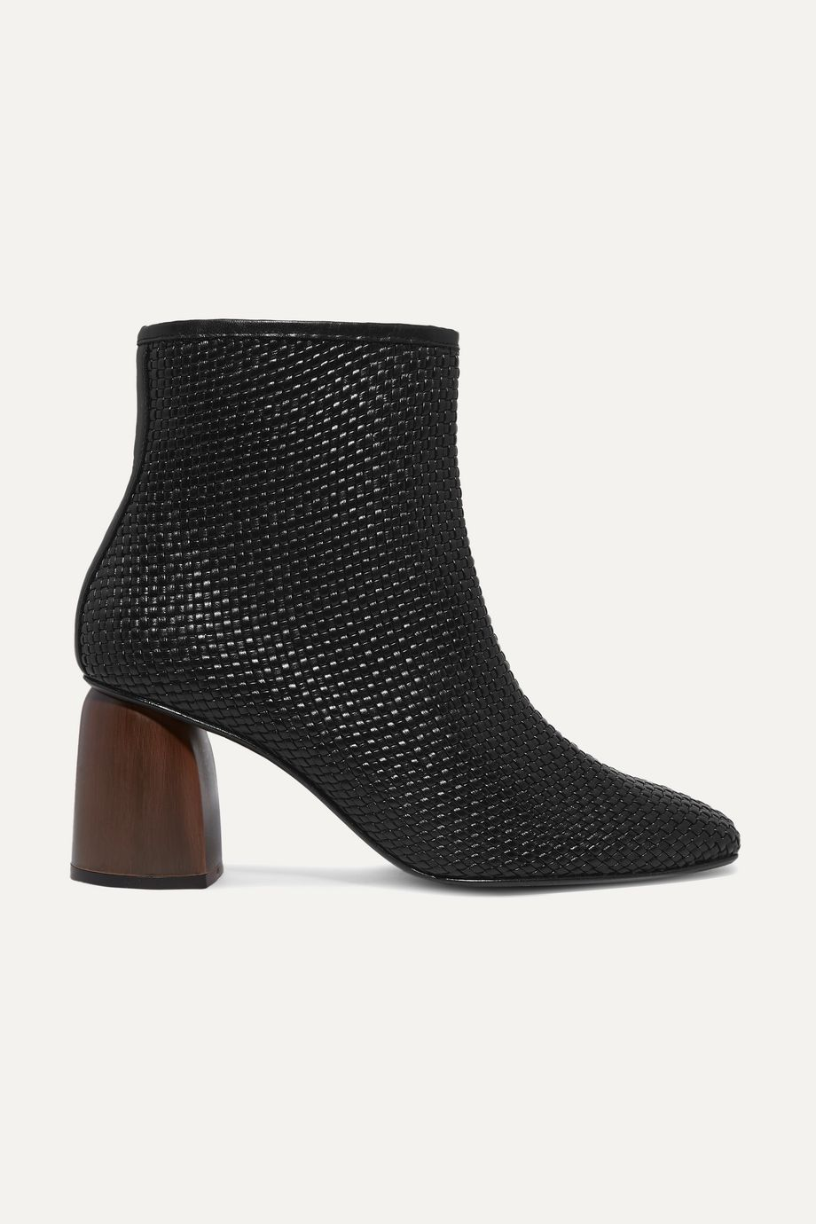Souliers Martinez Pilar woven leather ankle boots