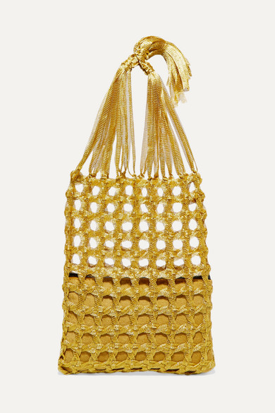 Fey Woven Tote by Mehry Mu