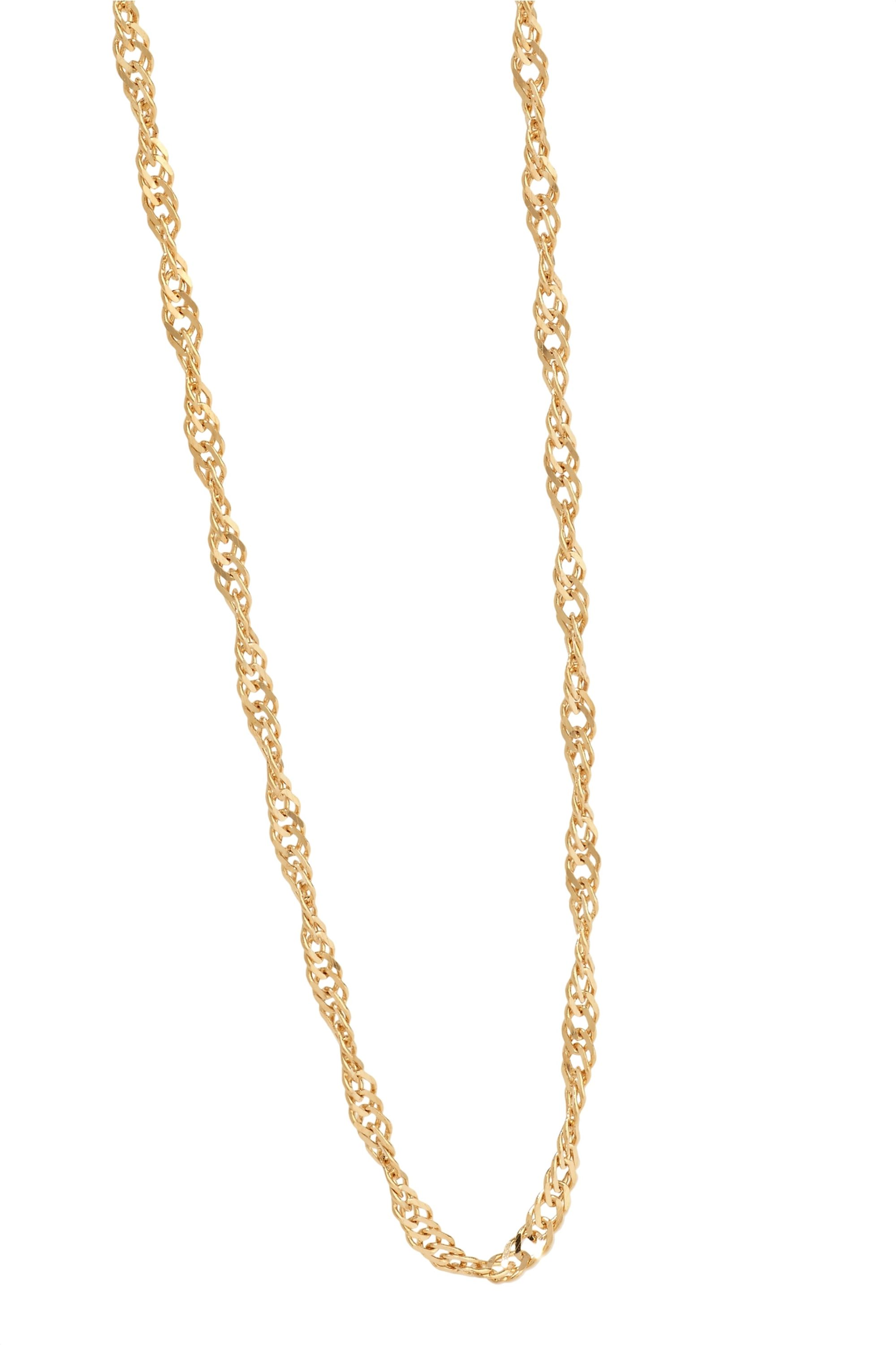 Catbird + NET SUSTAIN Sweet Nothing 14-karat gold necklace
