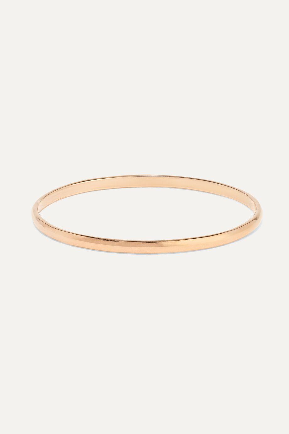 Catbird + NET SUSTAIN Mignon Memory 14-karat rose gold ring