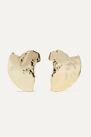 Chasm 10-karat gold earrings