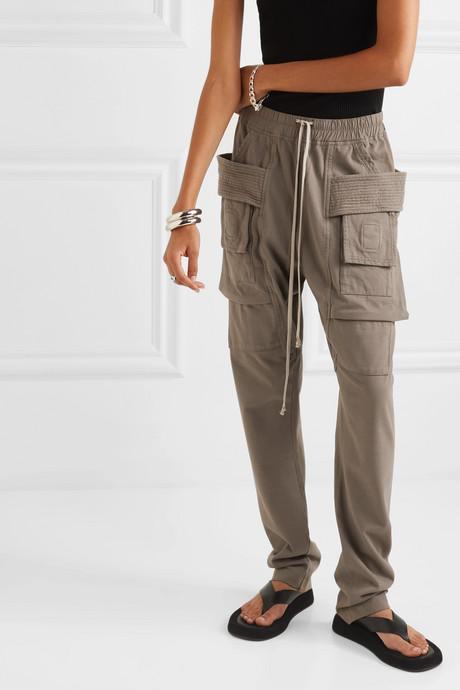 Creatch cotton-jersey cargo pants