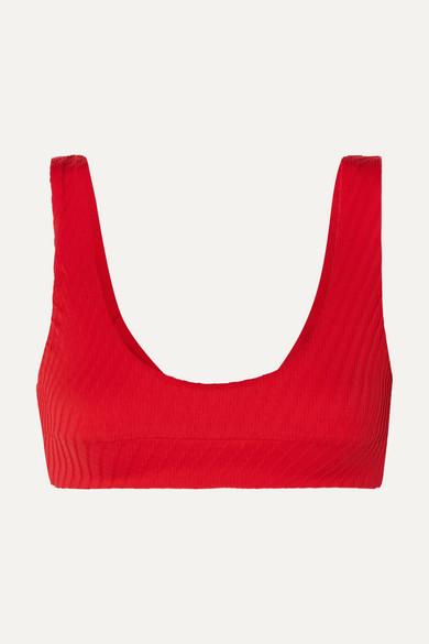 FELLA | Fella - Quinn Textured Bikini Top - Large | Goxip