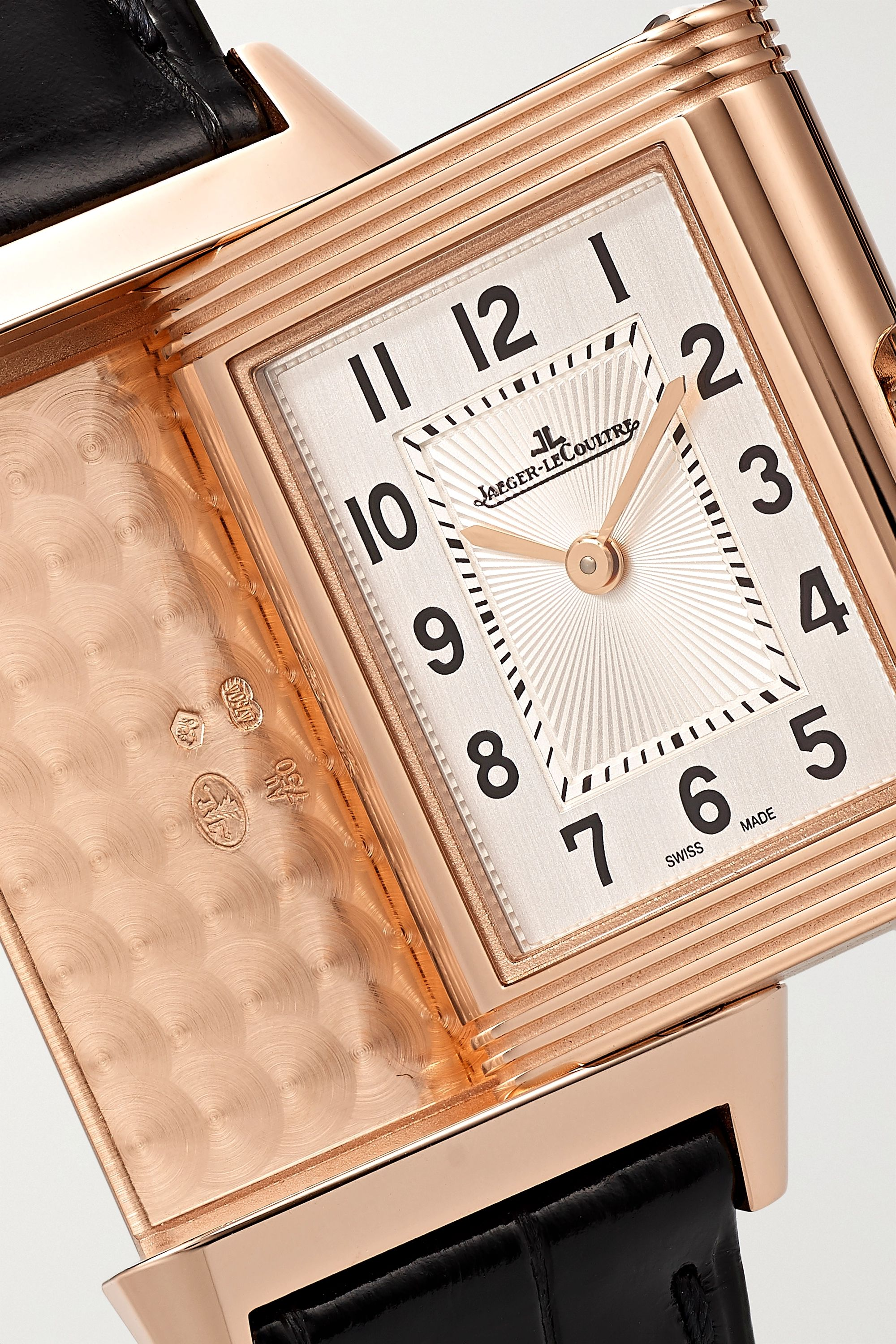 Jaeger-LeCoultre Reverso Classic small 21mm rose gold and alligator watch