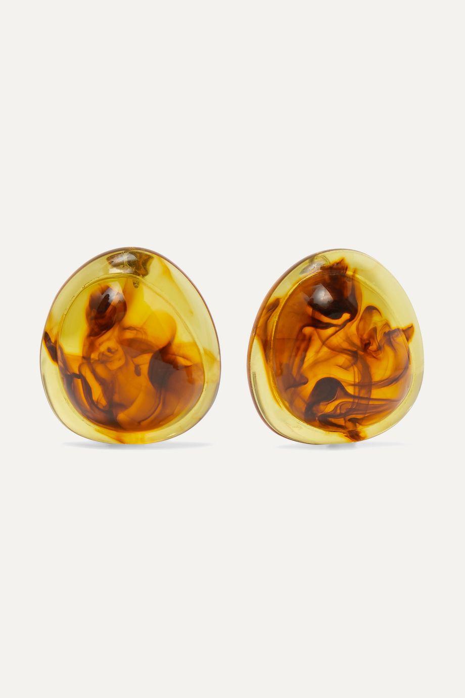 Valet Felicity 玳瑁纹树脂耳环