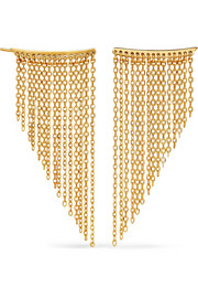 Natasha Schweitzer Penelope gold-plated earrings