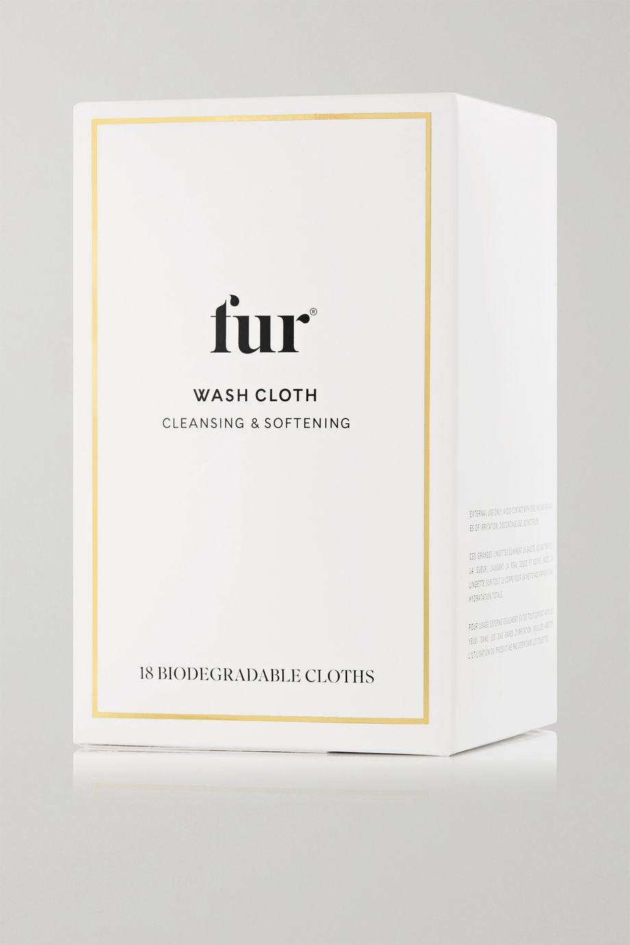 FUR Wash Cloth x 18