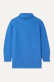 막스마라 Max Mara Wool and cashmere-blend turtleneck sweater