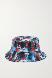 Printed cotton-canvas bucket hat