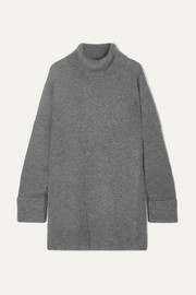 Arles ribbed cashmere turtleneck sweater