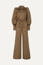 Anna Mason Jane cotton-twill jumpsuit