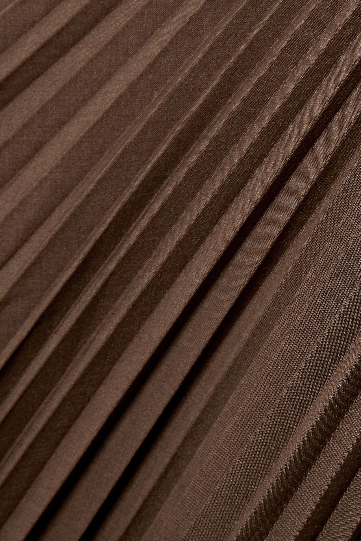 Peter Do Asymmetrischer Rock aus plissiertem Voile