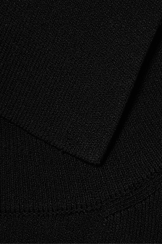 Peter Do Stretch-ponte turtleneck sweater