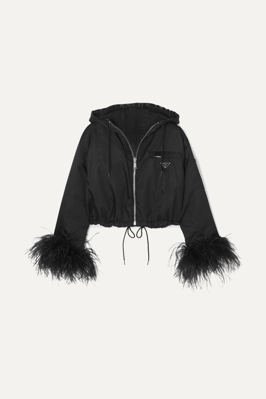 prada nylon jacket women's
