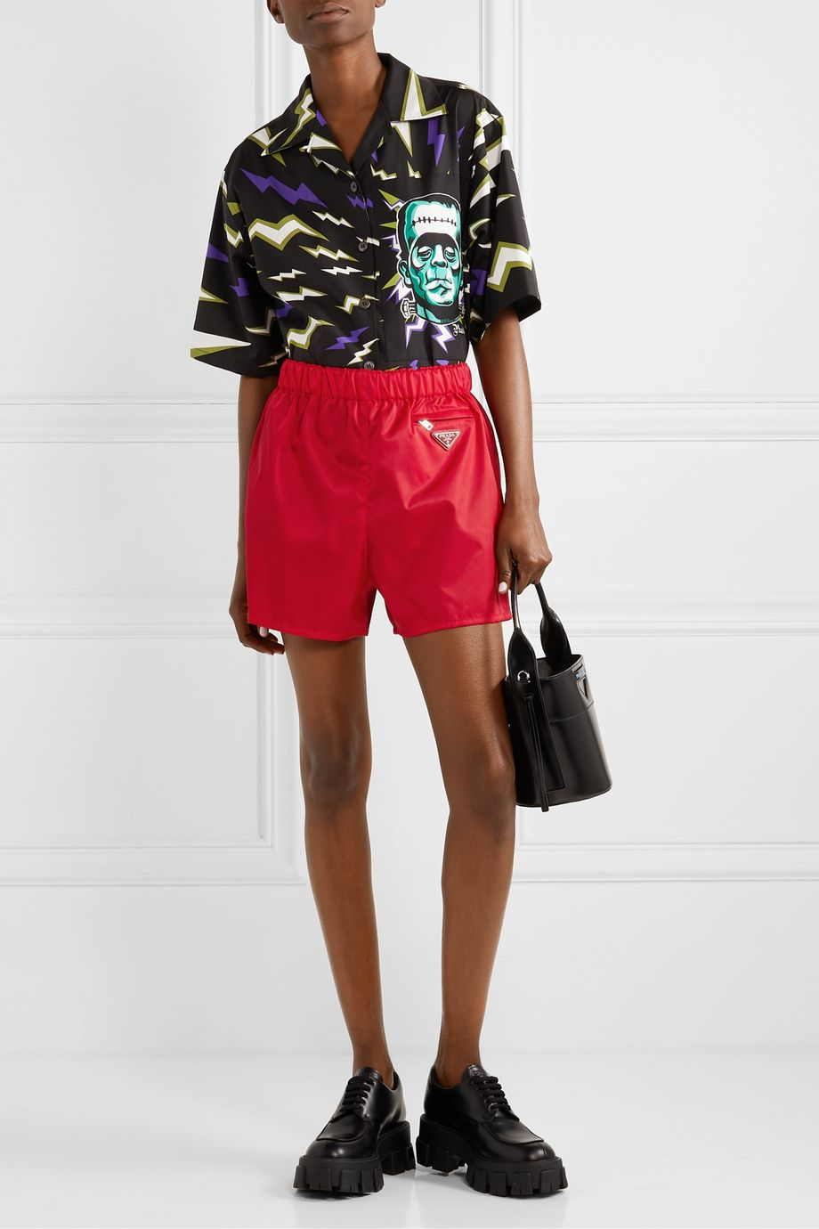 Prada Shorts aus Nylon