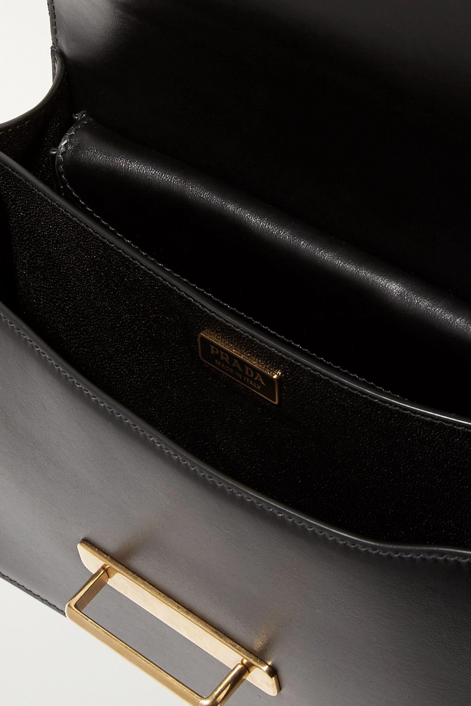 Prada Cahier large leather shoulder bag
