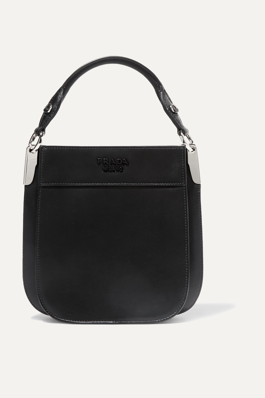 Prada Margit small leather tote