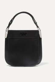 Prada Margit small leather tote
